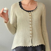 Meringue Cardigan, front view