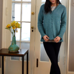 Travel Cardigan Front view